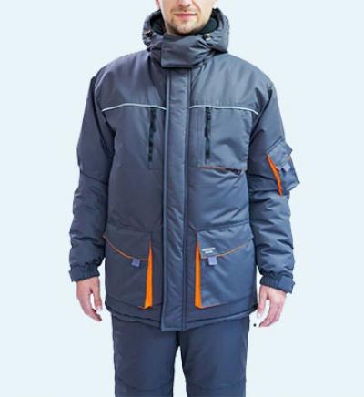 Химчистка утепленной куртки на синтепоне (спецодежда)