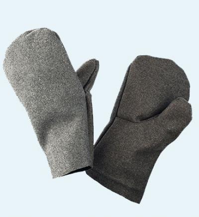 Сварщика перчатки пара (сукно)
